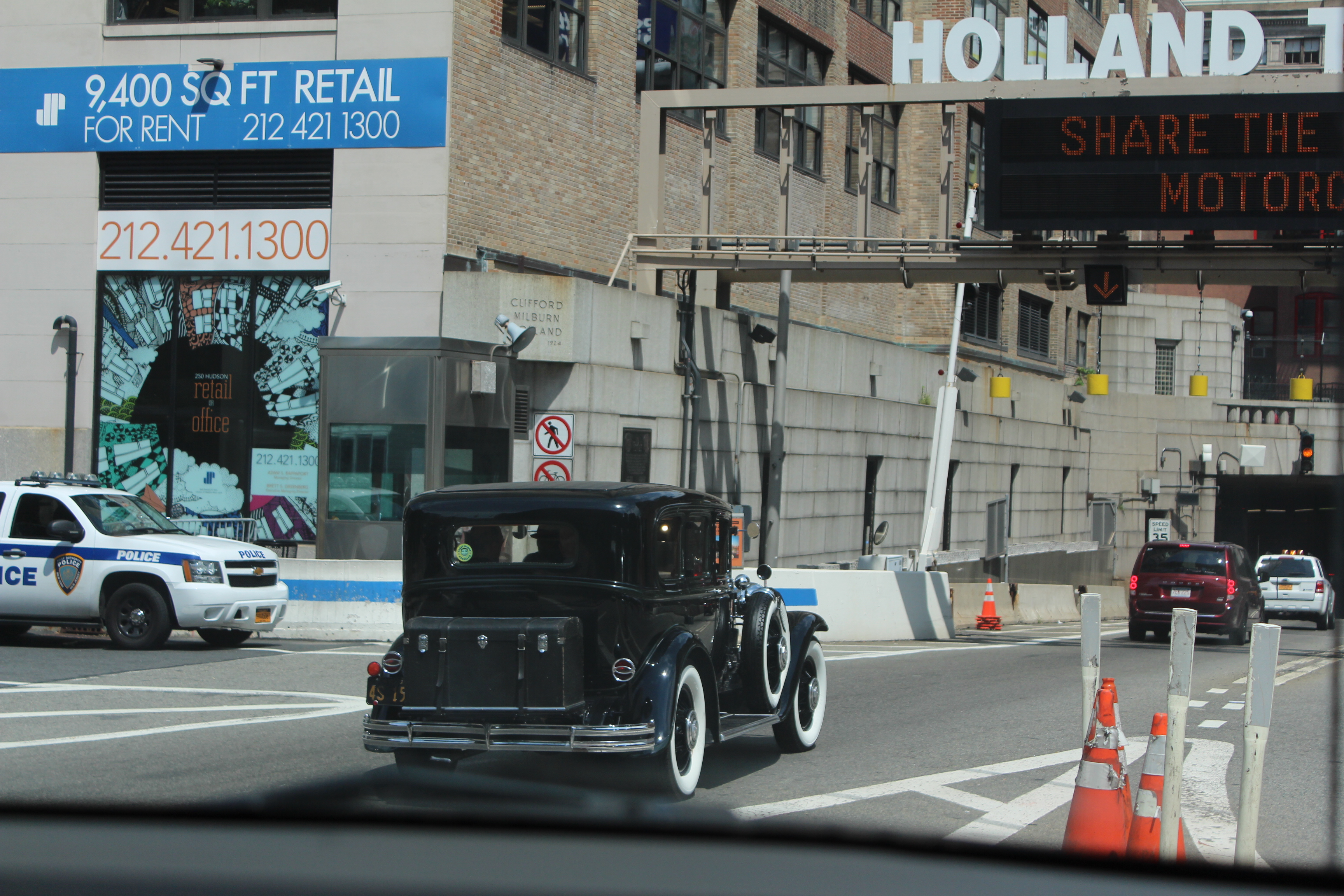 Buick Entry to Holland Tunnel